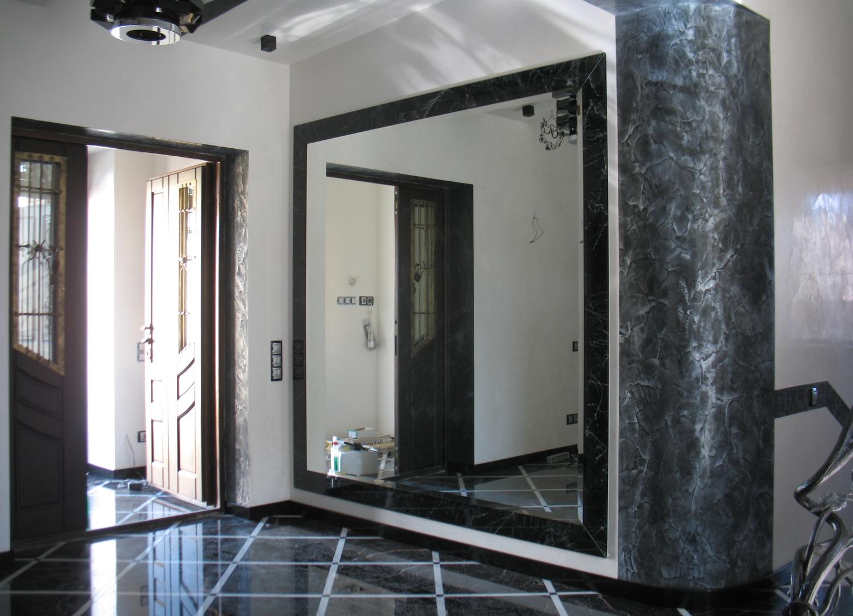 Зеркала в интерьере в прихожей фото